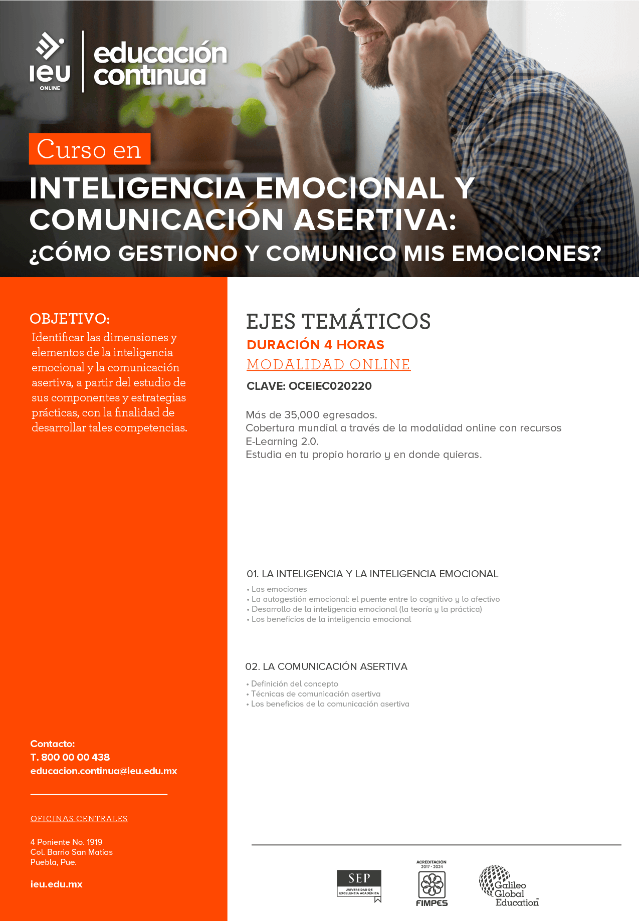 Inteligencia emocional y comunicación asertiva: ¿cómo gestiono y comunico mis emociones?