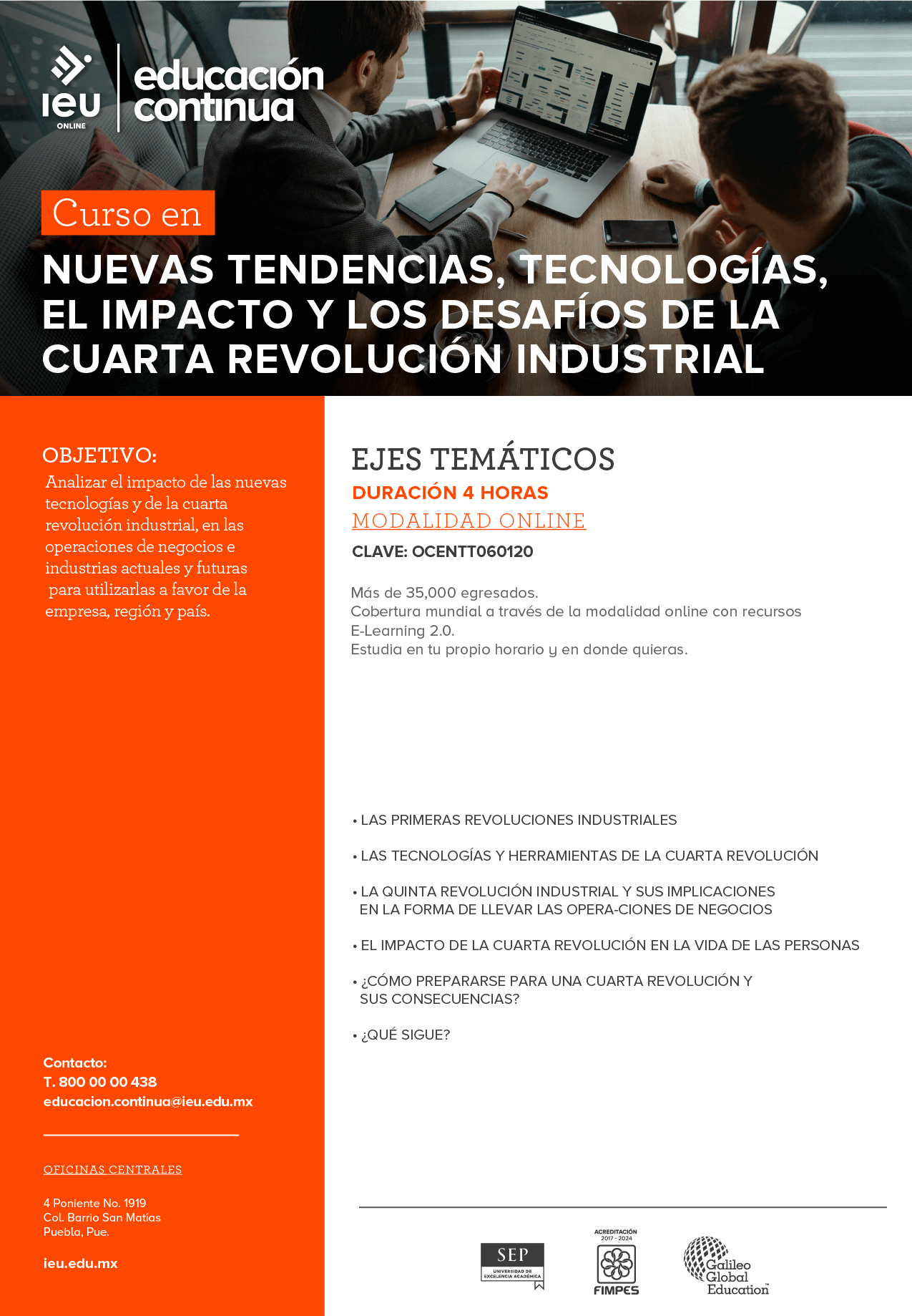 Nuevas tendencias, tecnologías, el impacto y los desafíos de la cuarta revolución industrial