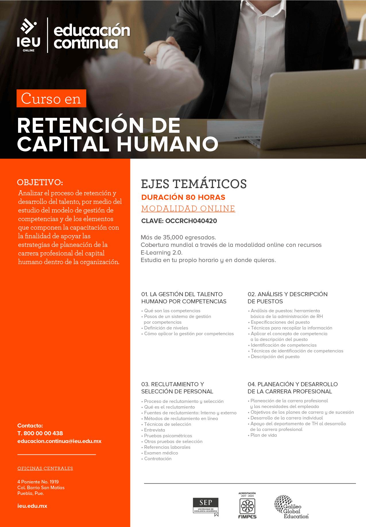 Retención de capital humano